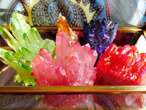Colorful crystals by Mermaid Princess | We Heart It (379910)