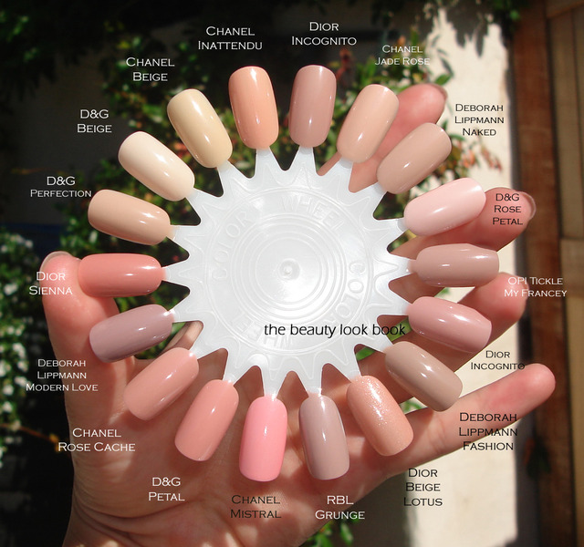 The Beauty Look Book Color Focus Pink Nudes for Nails (380358)