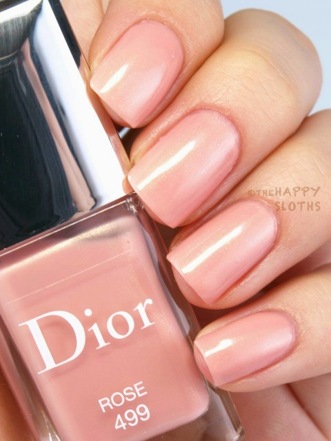 "The Happy Sloths: Dior Vernis Spring 2015 Limited Edition Nail Polish in ""499 Rose"", ""599 Pink"" & ""899 Corail"": Review and Swatches (380516)"