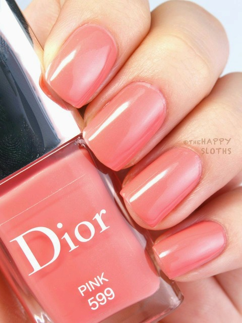 "The Happy Sloths: Dior Vernis Spring 2015 Limited Edition Nail Polish in ""499 Rose"", ""599 Pink"" & ""899 Corail"": Review and Swatches (380517)"