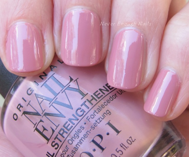 Never Enough Nails: OPI Nail Envy Strength + Color Swatches! (380667)