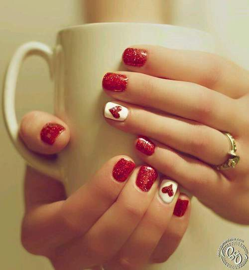 nail art by Zoella | We Heart It (383737)