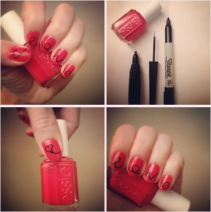 Lyndar the Merciless: Manicure Monday: Valentine's nails for you to try at home (384715)