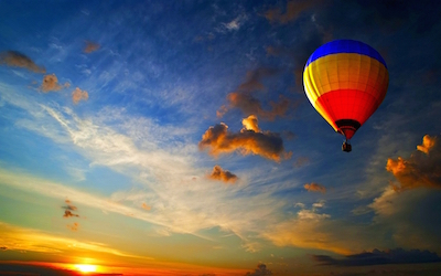 Hot Air Ballooning at Haridwar, Garhwal Himalayas, Uttarakhand (387018)
