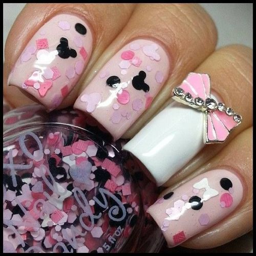 I am in love with these nails! by Marloes | We Heart It (388765)