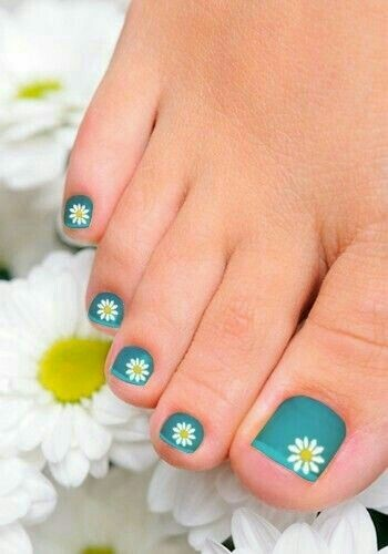 Foot Nail  Art | Fαshiση Gαlαxy 98 ☯ by Fashion Galaxy98 | We Heart It (392264)