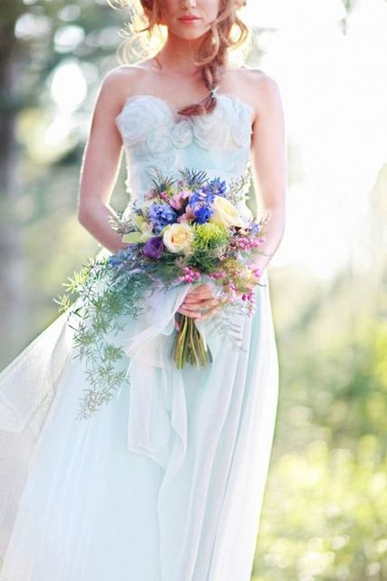 Is Blue the New Blush? | OneWed by LIVE | We Heart It (398398)