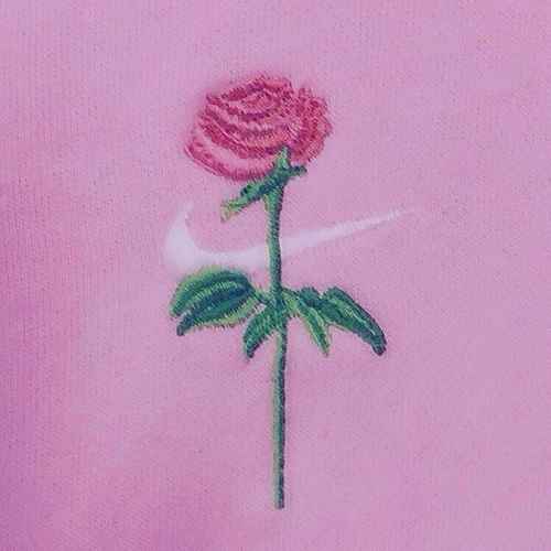 pink, rose, and nike by く た ば れ | We Heart It (398747)