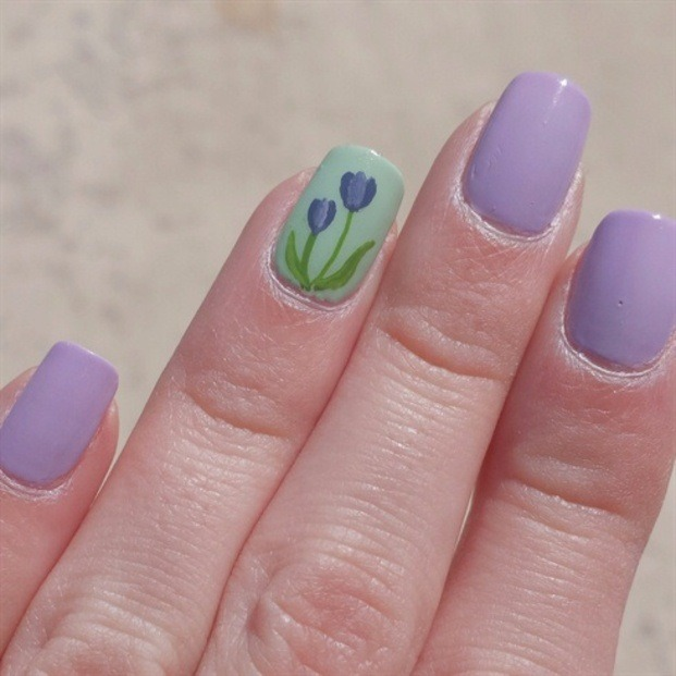 Tulips  - Nail Art Gallery (405321)
