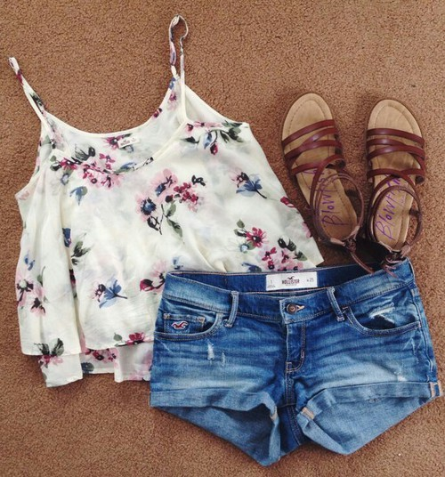 summer outfits by Radha | We Heart It (415551)
