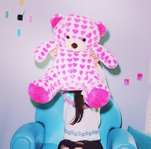 Teddy bear♡ by p o t a t o ➳♡ | We Heart It (418449)
