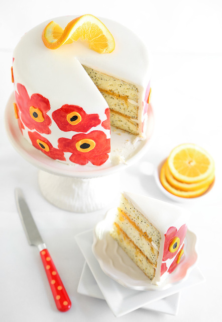 Orange cake by delicious | We Heart It (434007)