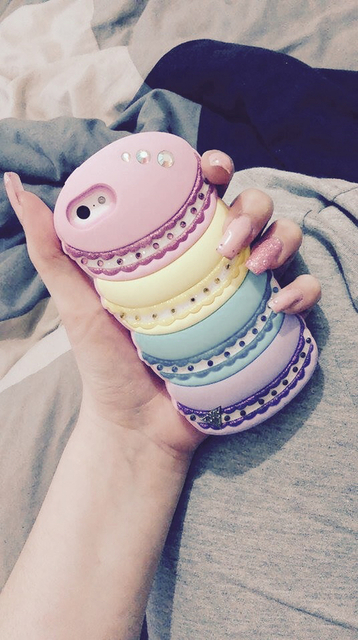 Coque_SWAGGII 📱😍💘~coque_style~ 💜   We Heart It   case, iphone, and nails (443486)