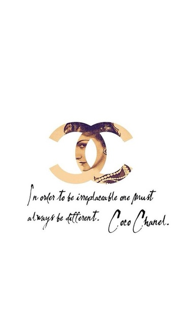 Chanel be different coco by **awesomesauce** | We Heart It (450304)
