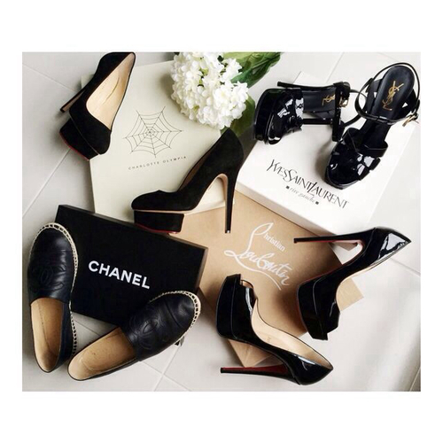 Repost by @thatsiiister | We Heart It | shoes, chanel, and fashion (450309)