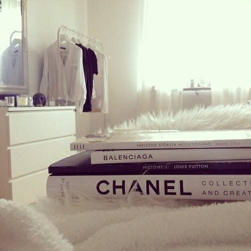#book #chanel #white by Ana | We Heart It (450543)