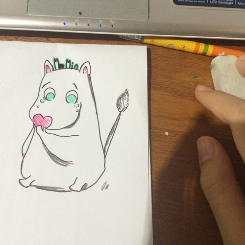 moomin and cute by tangkwa123456789 | We Heart It (456562)