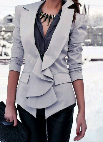 #blazer #sexybusinesswomen #loveit #fashion #saturday  by Oneilwe Thibelang | We Heart It (459993)