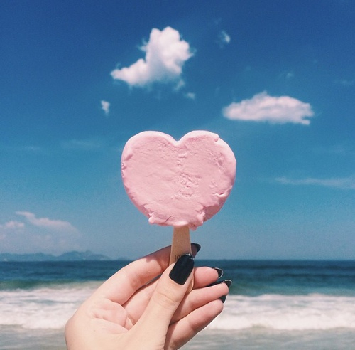 clouds, delicious, food, ice, sea, sweet - image #2581925 by KSENIA_L on Favim.com by P Y E | We Heart It (465138)