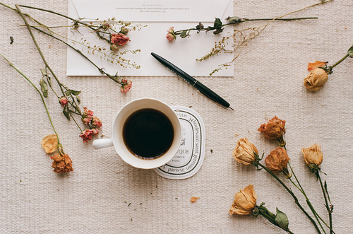 Flowers and tea. by Nevermind | We Heart It (465929)