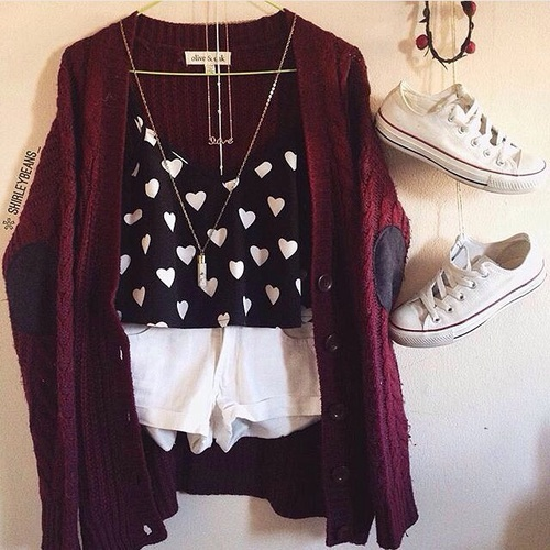 Fashion Cute Outfit!! by Francesca_M | We Heart It (474443)