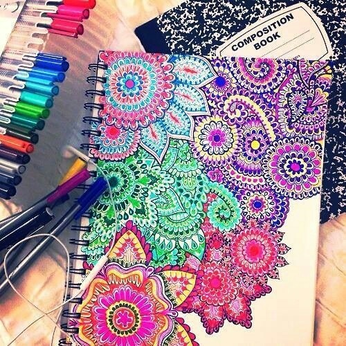 omg, i want to color thisss! by Nicol_3C | We Heart It (477312)