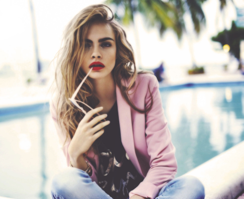 cara delevingne by Georgia | We Heart It (477480)