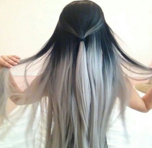 Pretty 2 tones hair #*** by ❋Hℴ ney❋ | We Heart It (479624)