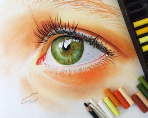 #Eyes #Eye #Greeb #Beautiful #Look #Pretty #Draw #Drawing #Color by starryway ✩ | We Heart It (480406)
