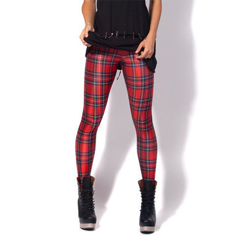 Vintage Tartan Printed Leggings - Rebel Style Shop - 1 by delmer_griffin | We Heart It (488416)