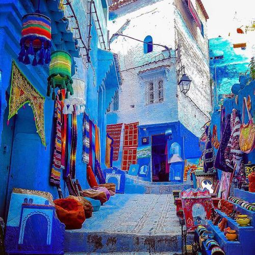 beauty, morocco, and chaouen by IMàNe BK | We Heart It (501218)