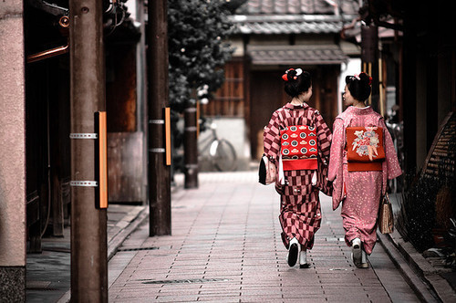 Buscar con Google | We Heart It | japan, kimono, and girl (513957)