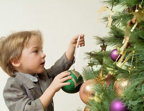 Christmas is almost here!  How are you getting ready for Christmas?   We Heart It   boy, christmas tree, and child (516906)
