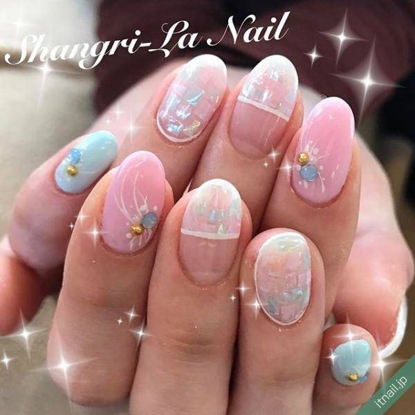 Shangri-La Nailが投稿したネイルデザイン [photoid:I0018531] via Itnail Design (551942)