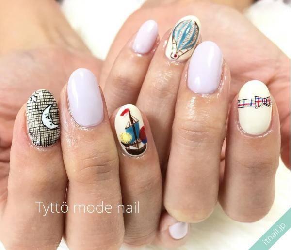 Tyttö mode nail