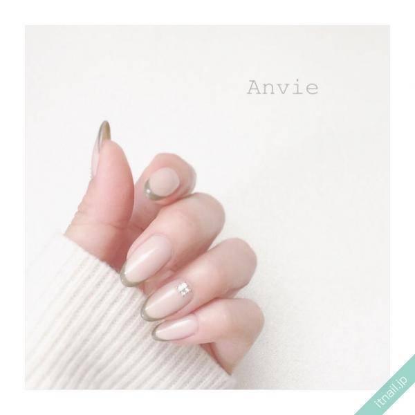 Nail Anvie (滋賀)が投稿したネイルデザイン [photoid:I0035012] via Itnail Design (553333)