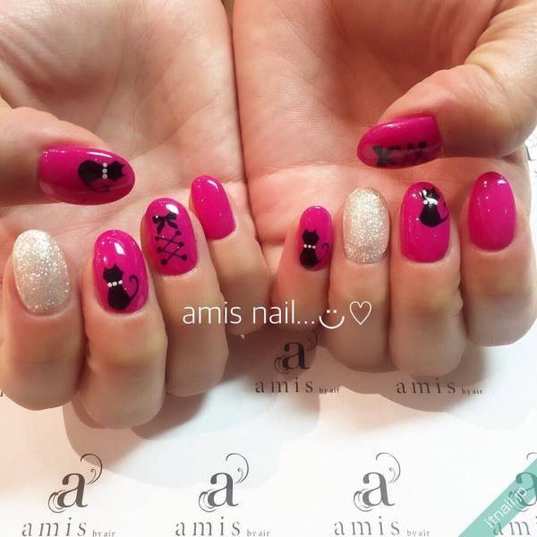 amis nail (銀座)が投稿したネイルデザイン [photoid:I0024362] via Itnail Design (557487)