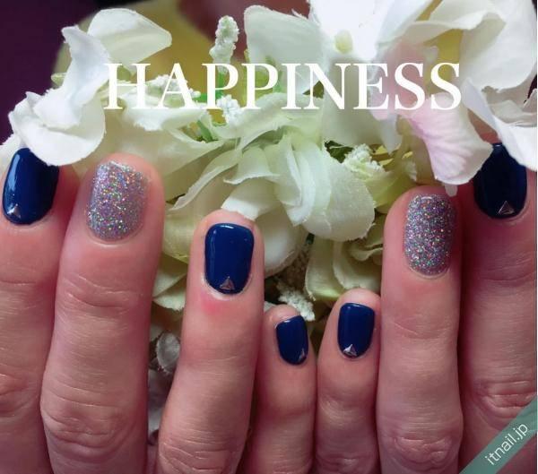 HAPPINESS (大阪・西田辺)が投稿したネイルデザイン [photoid:I0039397] via Itnail Design (557509)
