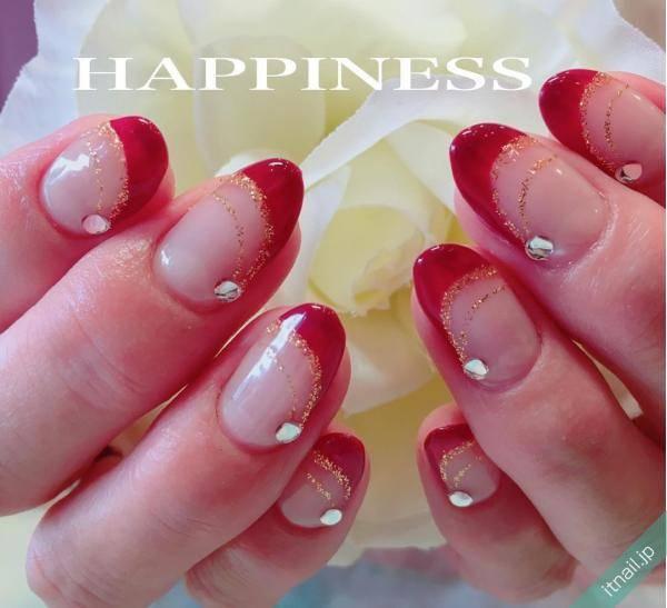 HAPPINESS (大阪・西田辺)が投稿したネイルデザイン [photoid:I0039163] via Itnail Design (557847)