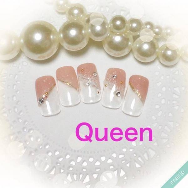 Queen (東大阪)が投稿したネイルデザイン [photoid:I0035508] via Itnail Design (557849)
