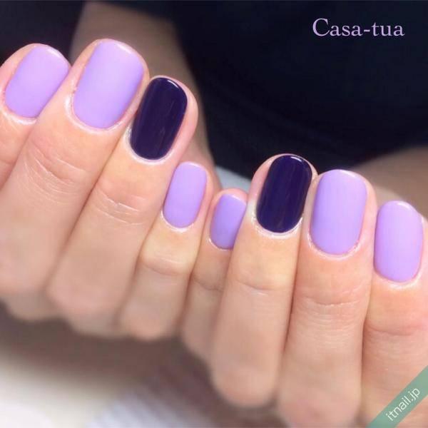 色味の違う紫色を組み合わせて葡萄を表現
