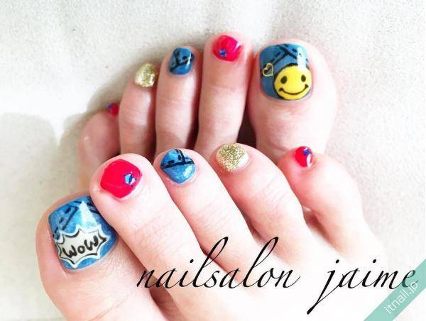J'aime (兵庫県尼崎市)が投稿したネイルデザイン [photoid:I0040321] via Itnail Design (560575)