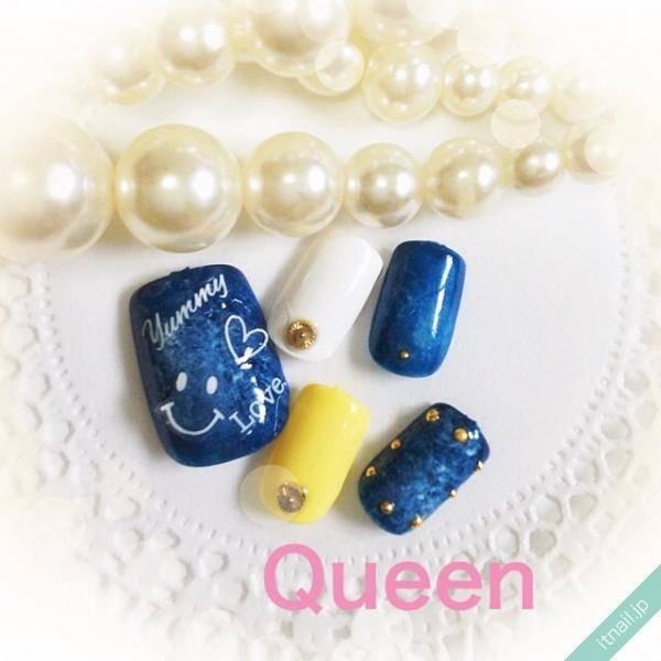 Queen (東大阪)が投稿したネイルデザイン [photoid:I0035537] via Itnail Design (560577)