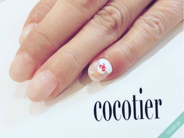 cocotier (愛知県刈谷市)が投稿したネイルデザイン [photoid:I0039945] via Itnail Design (562806)