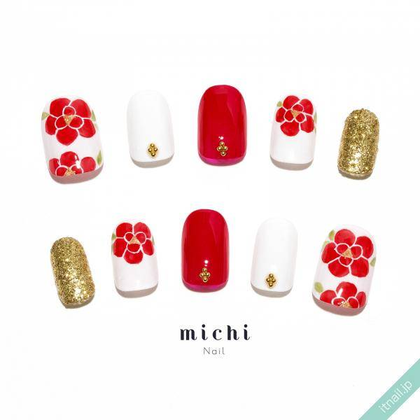 michi Nailが投稿したネイルデザイン [photoid:I0013438] via Itnail Design (565850)