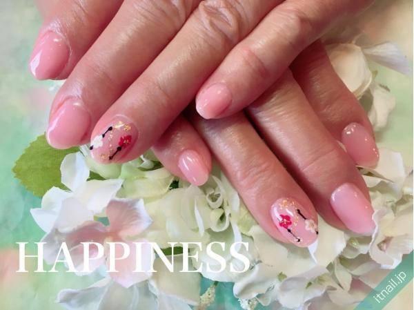 HAPPINESS (大阪・西田辺)が投稿したネイルデザイン [photoid:I0039411] via Itnail Design (567241)