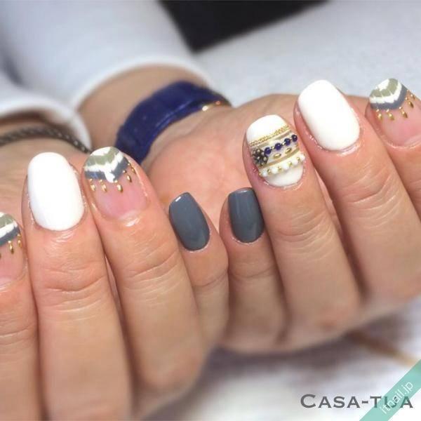 Casa-tua (福岡)が投稿したネイルデザイン [photoid:I0034257] via Itnail Design (567701)