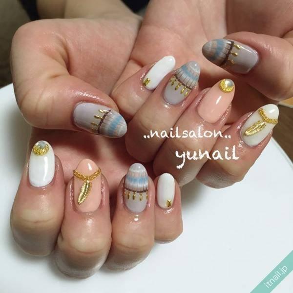 YUNAILが投稿したネイルデザイン [photoid:I0022527] via Itnail Design (567702)