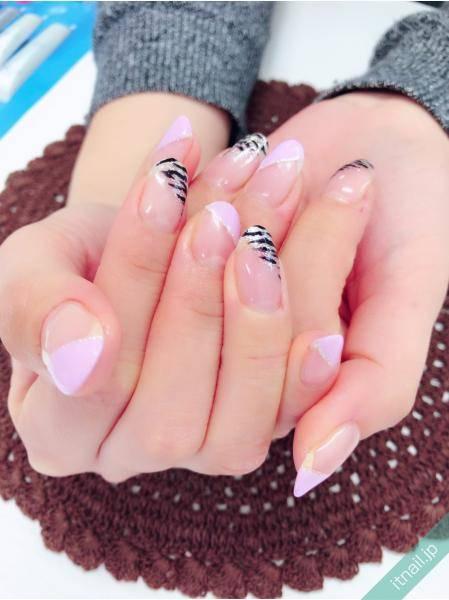 ピンクのゼブラ♪