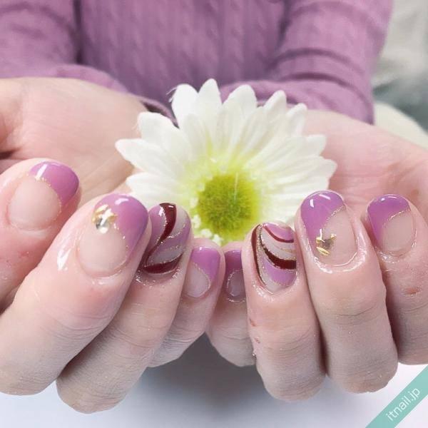 紫なら色っぽくきまる♡